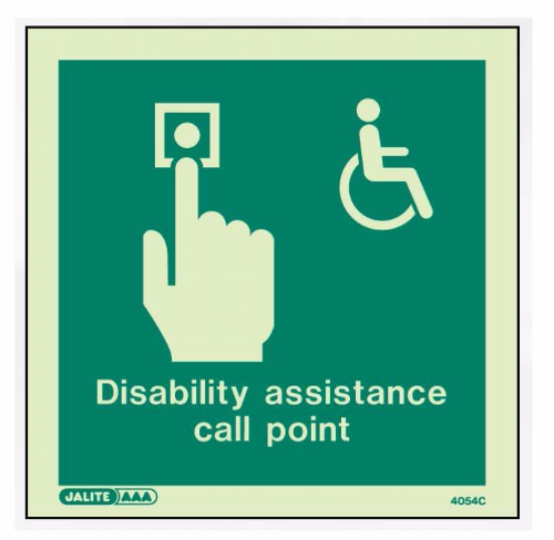 (4054C) Disability Assistance Call Point